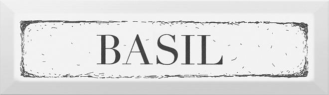 Купить Керамическая плитка Kerama Marazzi Гамма NT/В36/9001 Basil Черный Декор 8, 5x28, 5, Россия