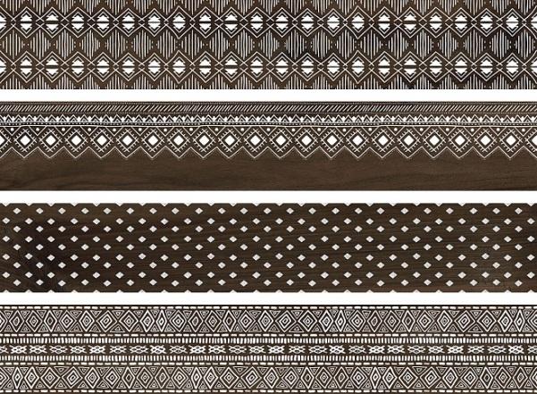 Купить Керамогранит Про Вуд коричневый декорированный обрезной DL510400R 20х119, 5, Kerama Marazzi, Россия