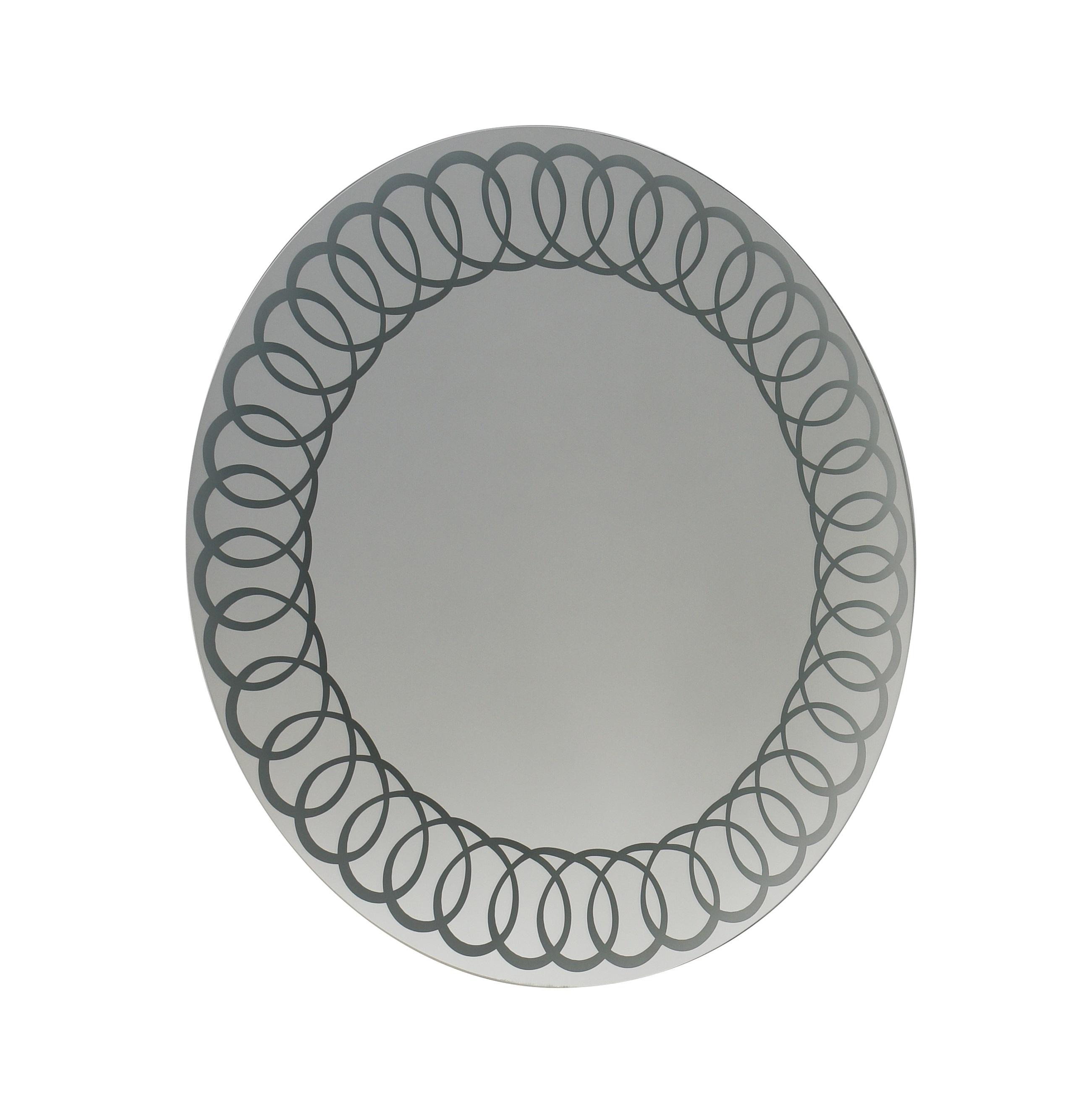 Купить Зеркало Marka One Belle 75 с подсветкой Spirate light, 1MARKA, Россия