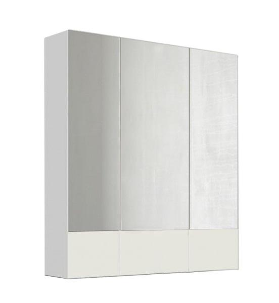 Купить Зеркало Marka One Соната 90 3 дверцы, Белый глянец, 1MARKA, Россия