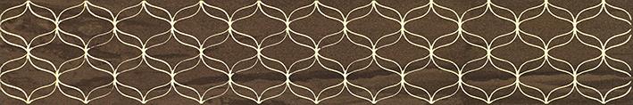 Купить Керамическая плитка Vitra Ethereal Бордюр коричневый K944347 9х60, Россия