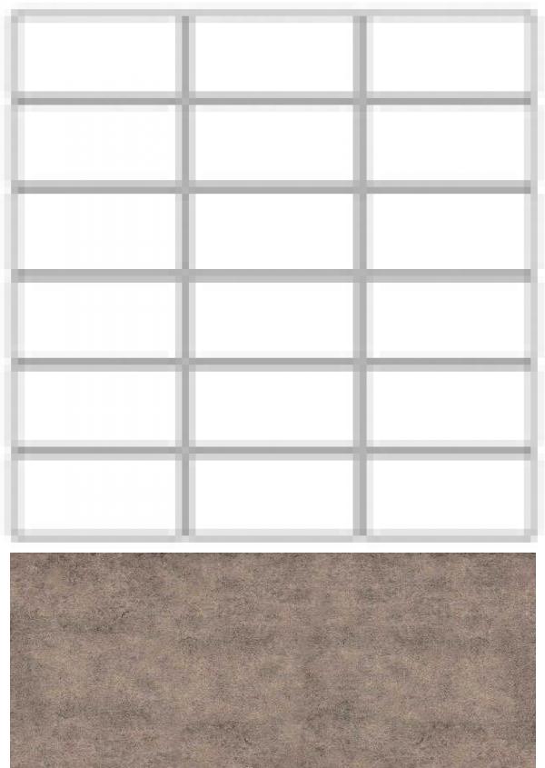 Купить Керамогранит Seranit Riverstone Mosaic Line Brown (15x3, 5) мозаика 30x30, Турция
