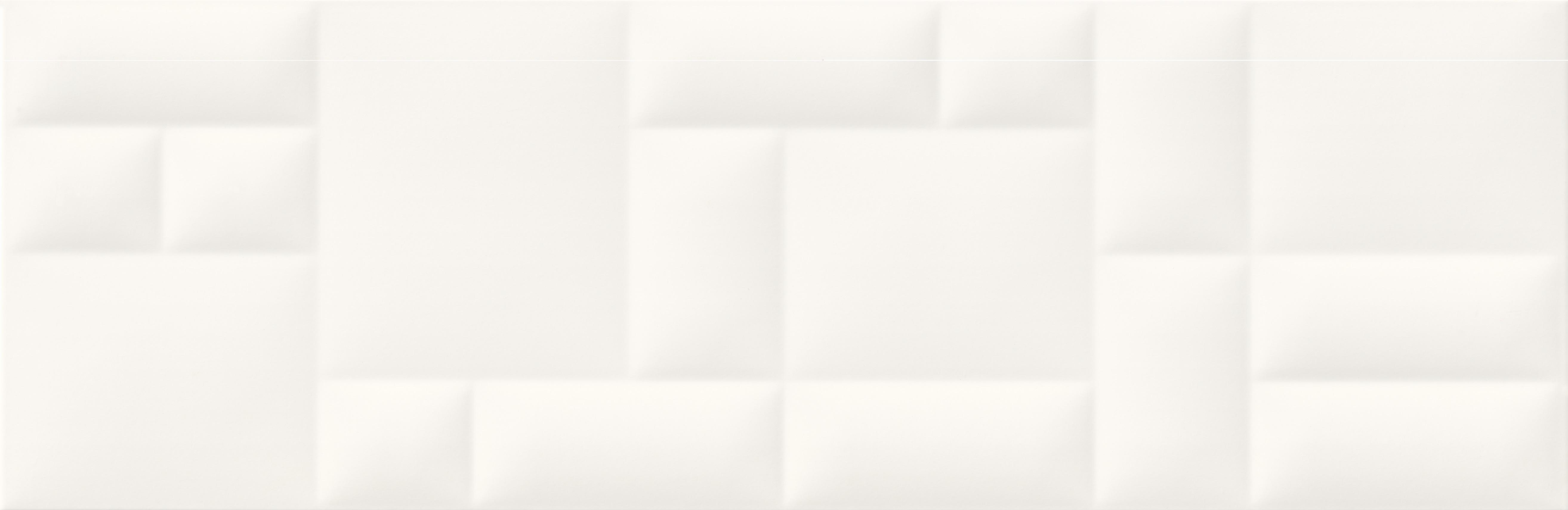 Купить Керамическая плитка Mei Pillow Game рельеф белый (O-PIL-WTA051) настенная 29x89, Россия