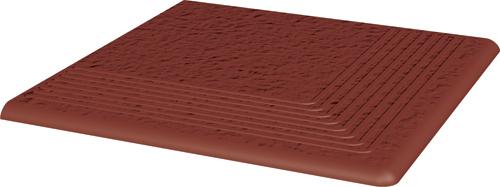 Купить Керамическая плитка Grupa Paradyz Natural Rosa Duro ступень угловая структ 300х300 мм/10 шт., Польша