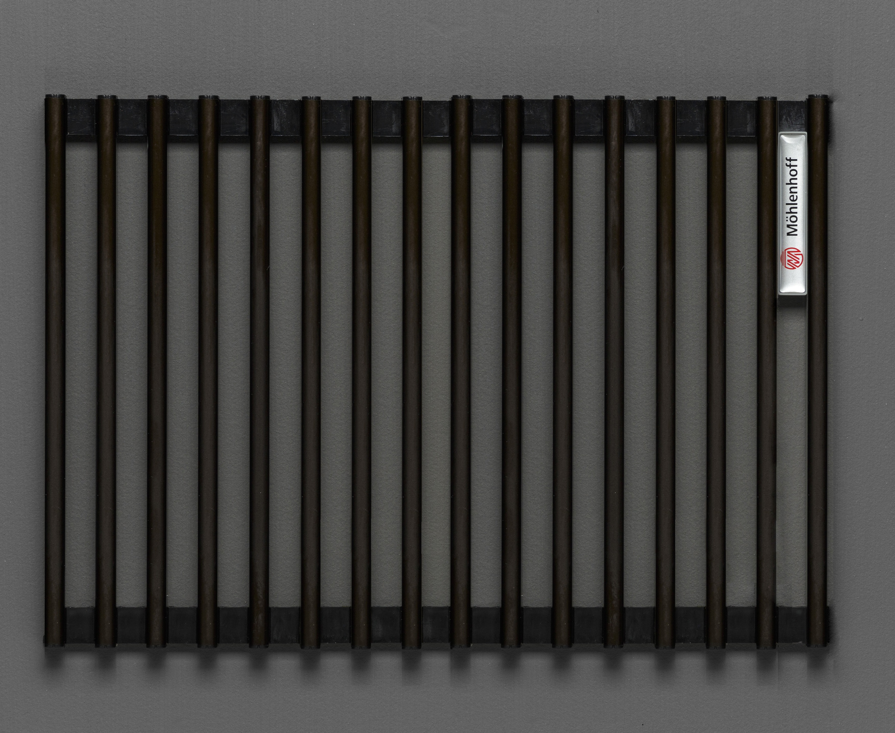Купить Декоративная решётка Mohlenhoff темная бронза, шириной 260 мм 1 пог. м, Россия