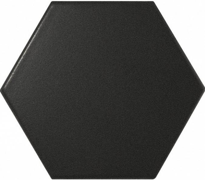 Купить Керамогранит Equipe Scale Hexagon Black Matt 10, 1x11, 6, Испания