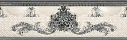 Купить Керамическая плитка Rocersa Aura Cenefa Inserto Scala Grey Бордюр 9x31, 6, Испания
