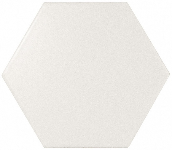 Купить Керамогранит Equipe Scale Hexagon White Matt 10, 1x11, 6, Испания