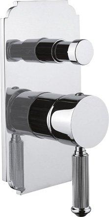 Купить Встраиваемый двухпозиционный смеситель для душа Cezares Olimp хром OLIMP-VDIM-01-L, Италия