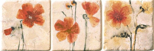 Купить Керамогранит Serenissima Marble Style Inserto Style S/3 (комплект) панно 10х10, Италия