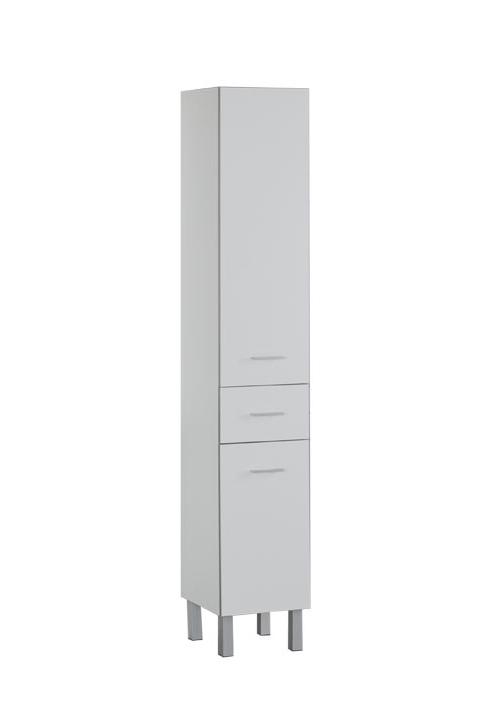 Купить Пенал Aquanet Верона 35 напольный белый 00178970, Россия