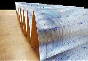 Подложка Солид гармошка фольгированная с пароизоляцией 3 мм (1050x500) 10, 5 кв.м упаковка  - Купить
