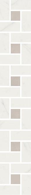 Купить Керамическая плитка Kerama Marazzi Борсари Бордюр мозаичный SG189/001 50, 2х8, 1, Керама, Россия