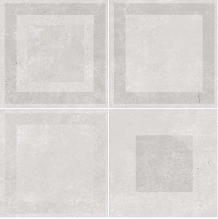 Купить Керамическая плитка Dual Gres Vanguard Pav. Loft Grey (Mix без подбора) напольная 45x45, Испания