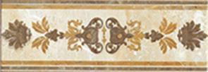Купить Керамическая плитка Lb-Ceramics Кендо Бордюр бежевый 1501-0079 8, 5x25, Россия