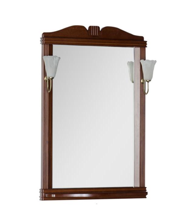 Купить Зеркало Aquanet Николь 70 орех 00180513, Россия