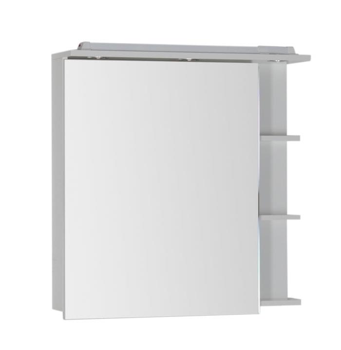 Купить Зеркальный шкаф Aquanet Лаконика 85 белый 00157600, Россия