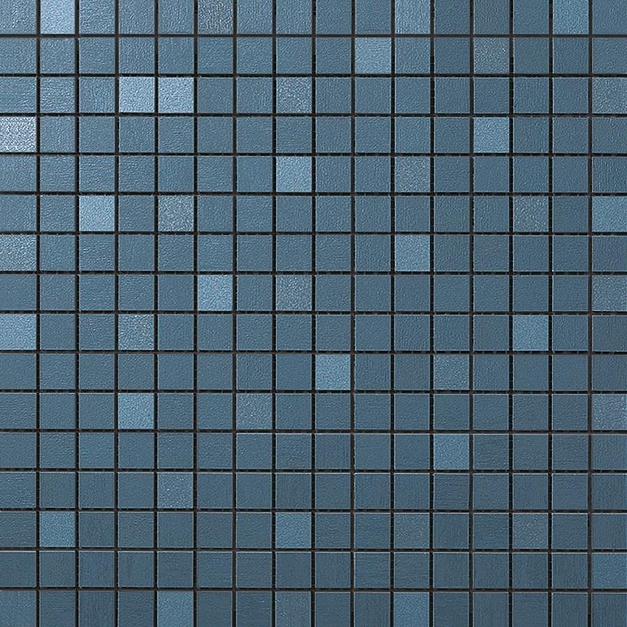 Купить Керамическая плитка Atlas Concorde MEK Blue Mosaico Q Wall 9MQU мозаика 30, 5x30, 5, Италия