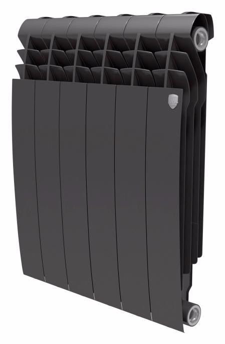 Купить БиМеталлический радиатор Royal Thermo Biliner Noir Sable 500 04 секций , Италия