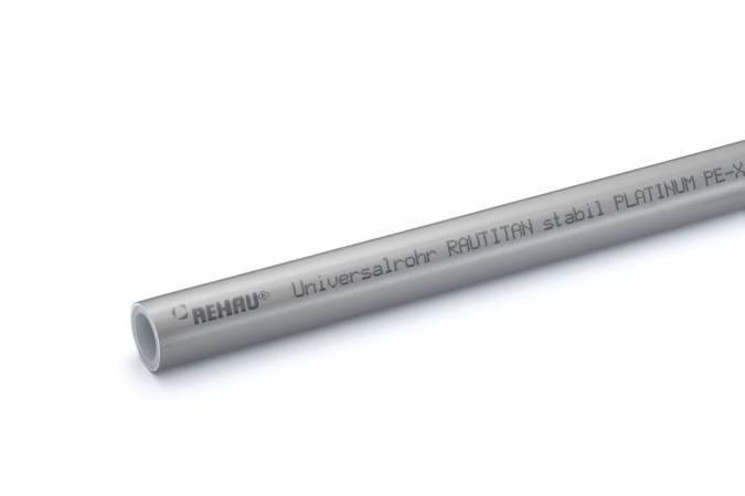 Купить Труба Rehau Rautitan Stabil Platinum 25х3, 7 отрезок 001м , Германия