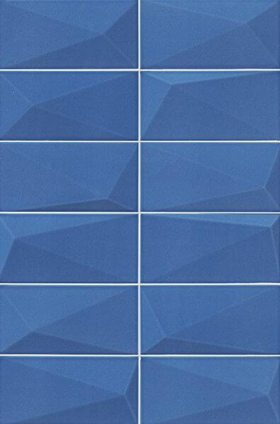 Купить Керамическая плитка Mainzu Diamond Sapphire Настенная 10х20, Испания