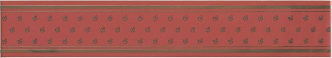 Купить Керамическая плитка Kerama Marazzi Фонтанка красный NT/A170/15000 Бордюр 7, 2x40, Россия