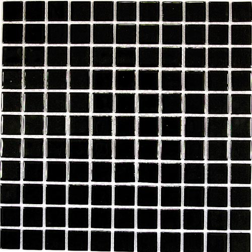 Купить Керамическая плитка China Mosaic Black glass (4x25x25) Мозаика 30x30, Китай