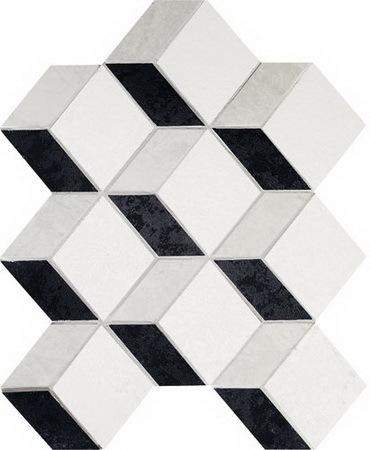 Купить Керамогранит Tubadzin MS-Barcelona 2A мозаика напольная 24, 5x29, 8, Польша