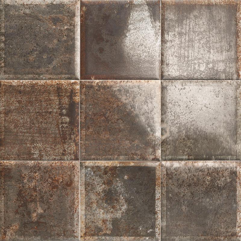 Купить Керамическая плитка Mainzu Tin-Tile Nero настенная 20х20, Испания