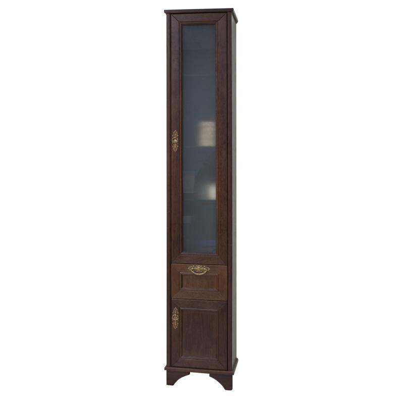 Купить Шкаф-колонна АКВАТОН ИДЕЛЬ правый, дуб шоколадный, Акватон, Россия