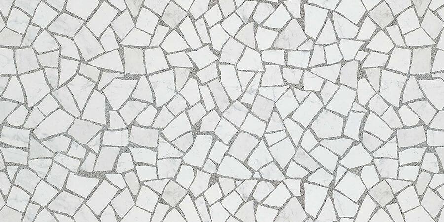 Купить Керамическая плитка Atlas Concorde Marvel Gems Palladiana Carrara 4MTC настенная 50x110, Италия