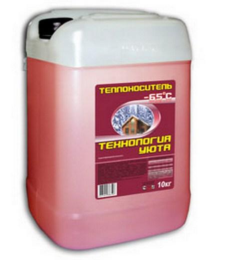 Купить Теплоноситель Технология уюта -65, 20 кг, Thermagent, Россия