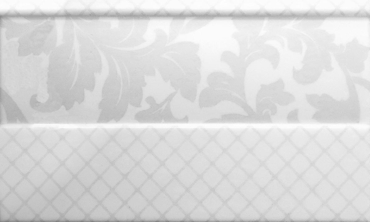 Купить Керамическая плитка Delacora Moncada White Zocalo BW0MWZ00 плинтус 15x25, Россия