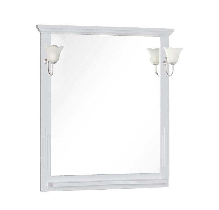 Купить Зеркало Aquanet Лагуна 120 белый 00175303, Россия