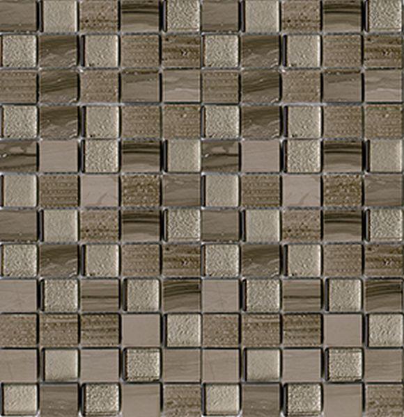 Купить Керамическая плитка Lantic Colonial Mosaico Time Text Silk Wood G-124 Мозаика 29, 5x28, 5, Испания