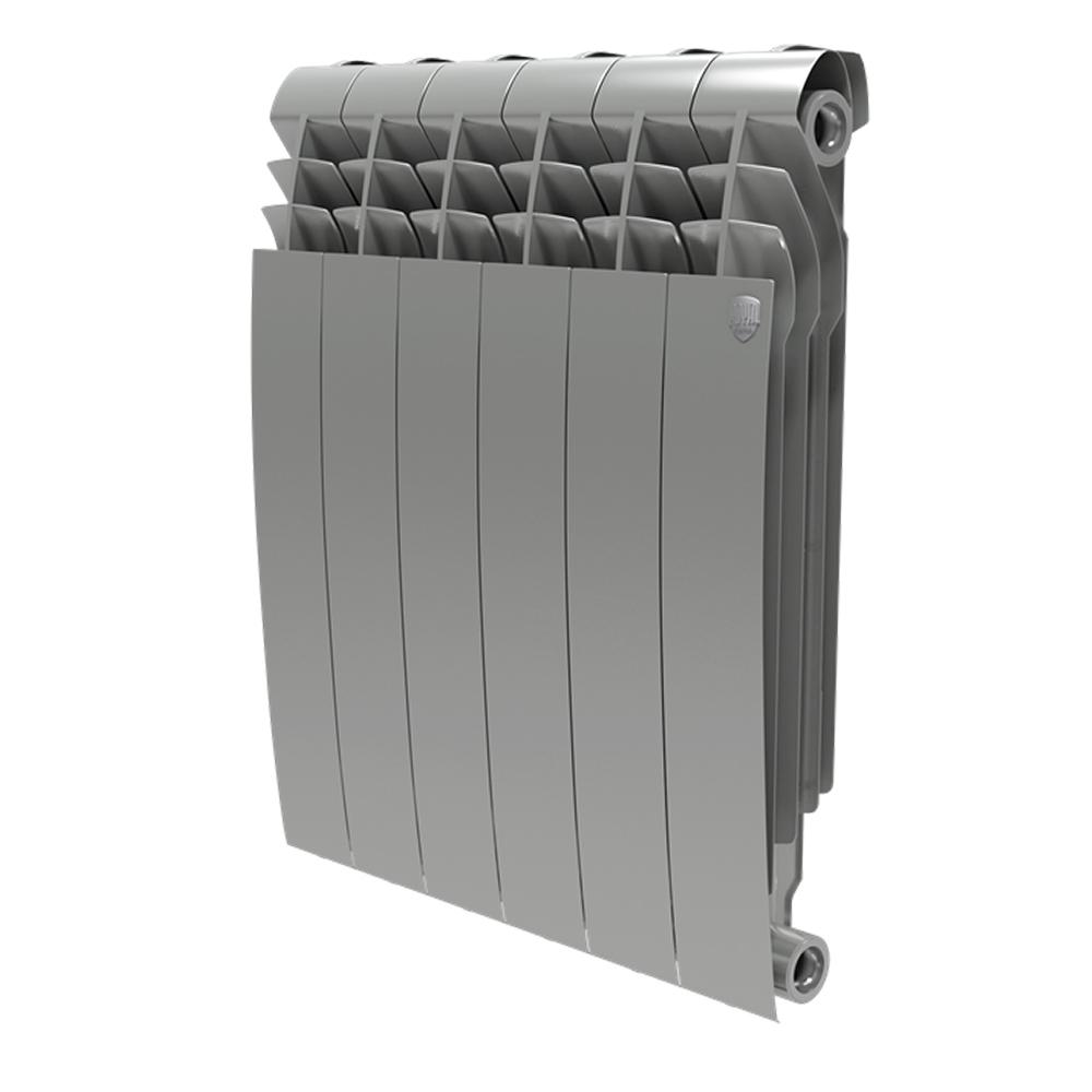 Купить БиМеталлический радиатор Royal Thermo Biliner Silver Satin 500 04 секций , Италия