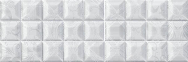 Купить Керамическая плитка Absolut Keramika Vintage Decor Ornamental Blanco B27 Декор 15x45, Испания
