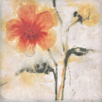 Купить Керамогранит Serenissima Marble Style Inserto Style S/3 (Цветок Влево) декор 10х10, Италия
