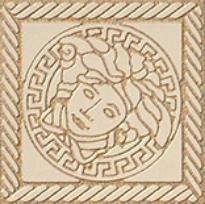 Купить Керамогранит Versace Marble Beige 240304 Tozzeto Medusa Декор 11, 5x11, 5, Италия