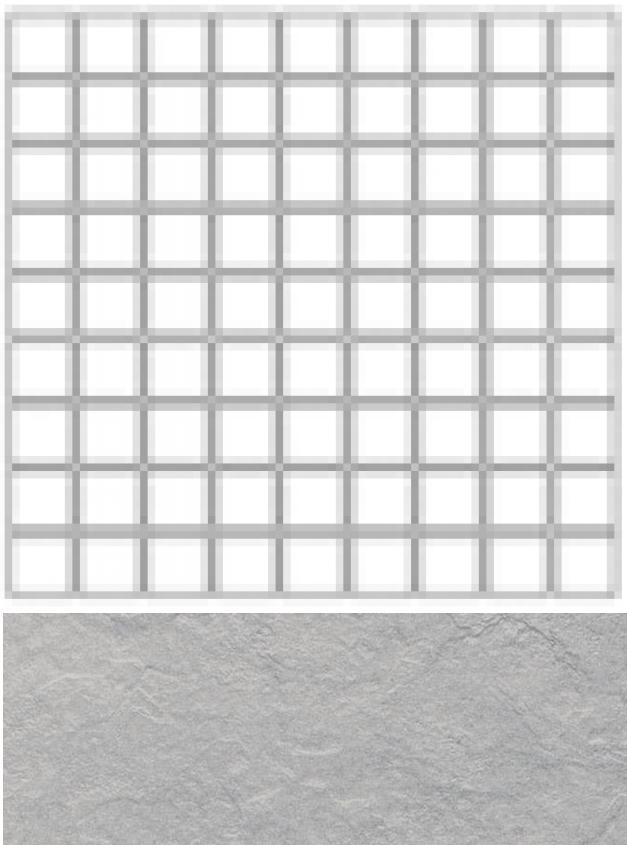 Купить Керамогранит Seranit Riverstone Mosaic Grey (5x5) мозаика 30x30, Турция