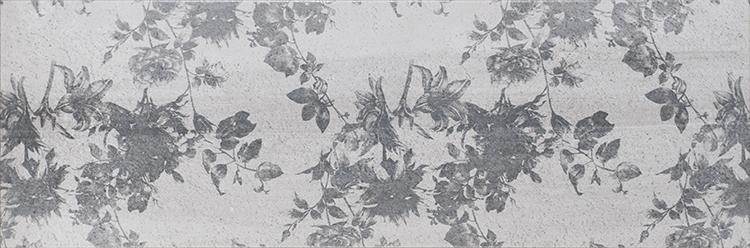 Купить Керамическая плитка Myr Street Flor Decor Grafito декор 25x75, Myr Ceramicas, Испания