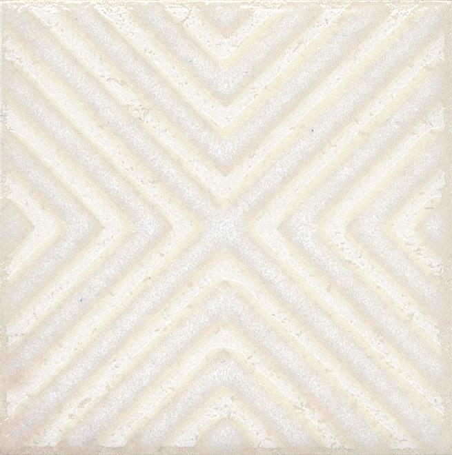 Купить Керамический гранит Kerama Marazzi Амальфи Орнамент Белый STG/B403/1266 Декор 9, 9x9, 9, Россия