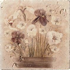 Купить Керамическая плитка Serenissima Marble Age Inserto Travertino Декор (панно) 20x20, Италия