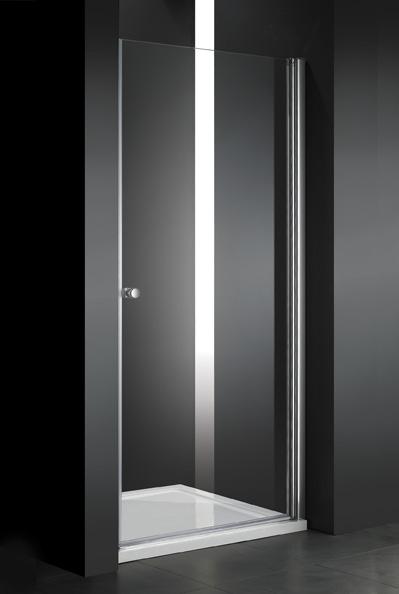 Купить Душевая дверь в нишу CEZARES ELENA B-1 1950x700 (матовое стекло) Хром, Италия