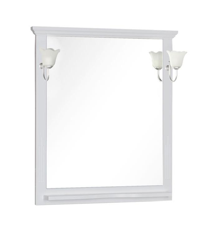 Купить Зеркало Aquanet Лагуна 105 белый 00175304, Россия