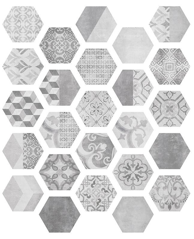Купить Керамогранит ITT Ceramica Nuuk Hexa (25mix) 23, 2х26, 7, Испания