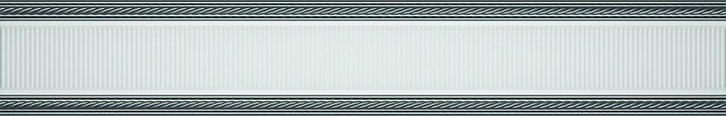 Купить Керамическая плитка Undefasa Embassy Listelo Gris бордюр 4х25, Испания