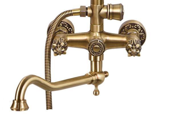 Комплект для ванны и душа Bronze de Luxe FLORENCE 10131D