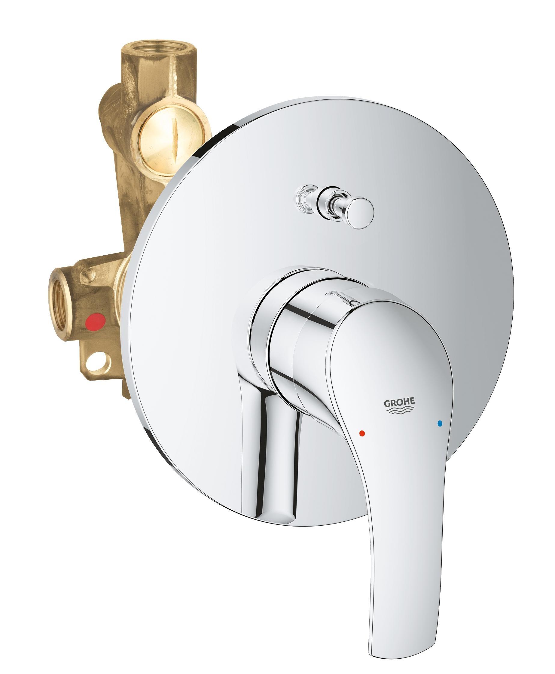 Купить Смеситель для ванны Grohe Eurosmart New встраиваемый (со встроенным механизмом) 33305002, Германия