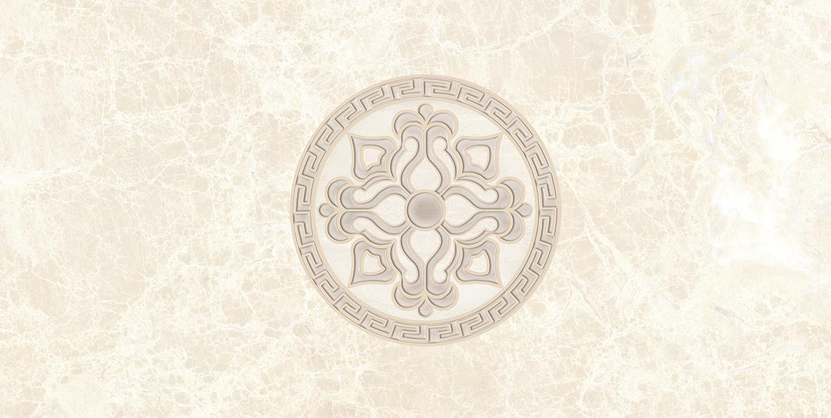 Керамическая плитка Ceramica Classic Persey Декор бежевый 08-03-11-497 20х40